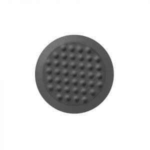 BP1011404 mørk grå fareelementer i Desmopan på 35 mm bredde med tapelim