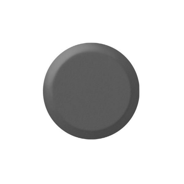 BP1011405 fare element i mørk grå på 25 mm diameter for liming eller tape liming