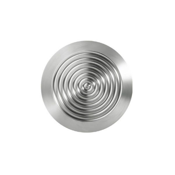 Fare/varsel element i rustfritt eller syrefast stål på 35 mm diametermed tapelim