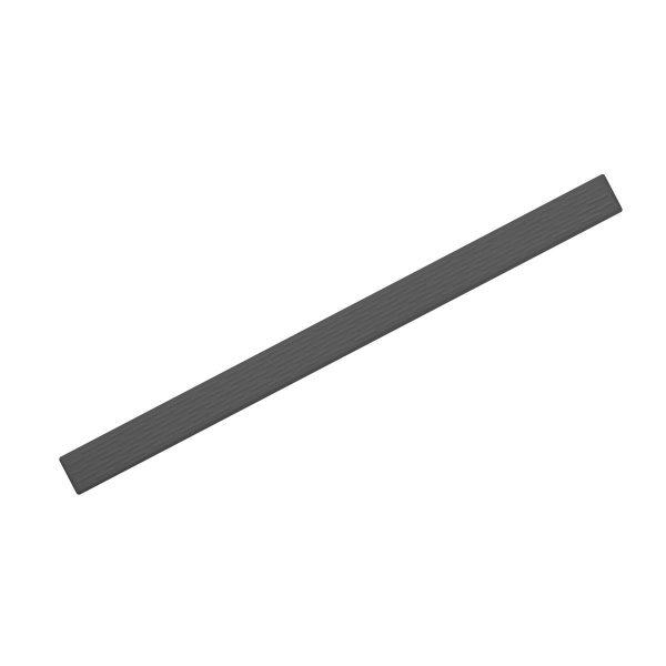 Ledelinje i Desmopan uten lim på 500 x 35 x 3 mm