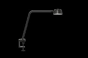 Skrivebordslampe, sort, dimmer lyset fra 2700k til 4000k
