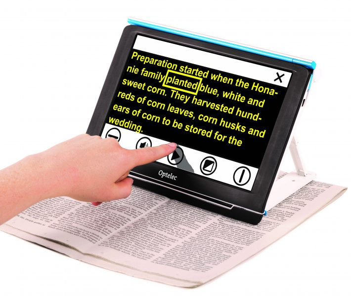 digital lupe Conpact 10 hd Speech